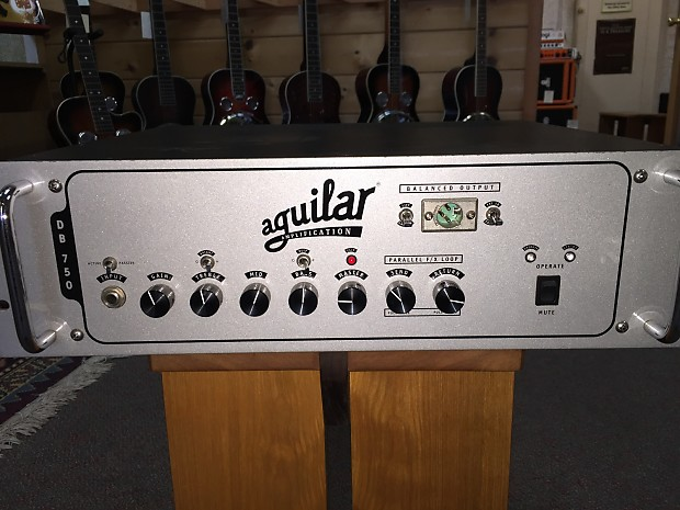 aguilar db 750 bass amp head used reverb. Black Bedroom Furniture Sets. Home Design Ideas