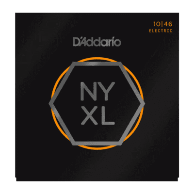 D'Addario NYXL1046 Nickel Wound Electric Guitar Strings, Regular Light Gauge