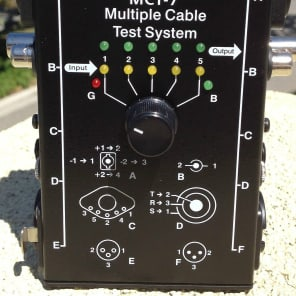 Whirlwind MCT-7 Multi-Connector Cable Tester