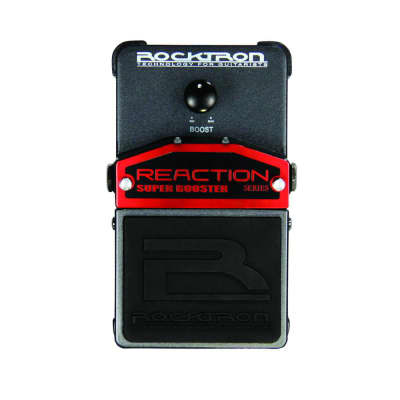 Rocktron Reaction Super Booster Guitar Effects Pedal for sale