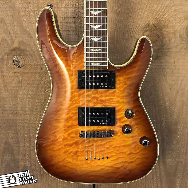 Schecter Omen Extreme-6 Electric Guitar Vintage Sunburst 2010