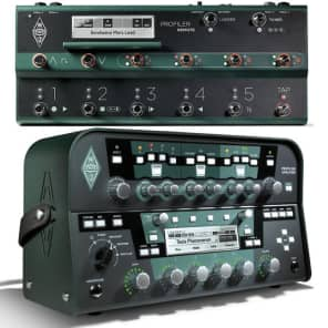 Kemper Amps Profiler PowerHead 600w Guitar Modeling Amp w/ Remote Controller Pedal
