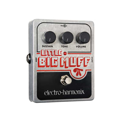 Electro Harmonix Little Big Muff Pi Distortion / Sustainer Effect Pedal