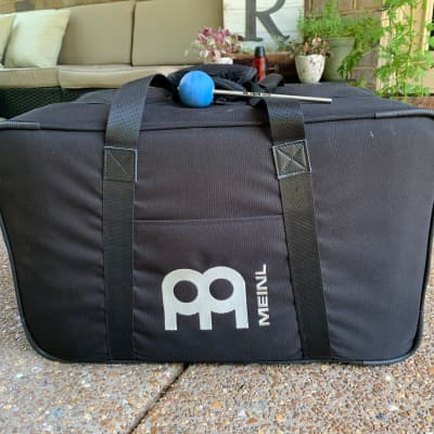 Meinl Headliner Series Cajon w/ Meinl Seat Cushion, Carrying Case and Vic Kick Beater