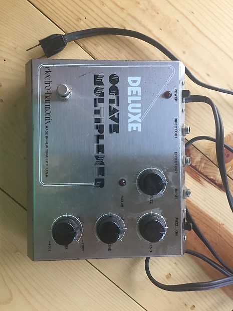electro harmonix deluxe octave multiplexer 70s used reverb. Black Bedroom Furniture Sets. Home Design Ideas