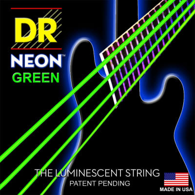 DR Neon Electric Strings 10-46 Green