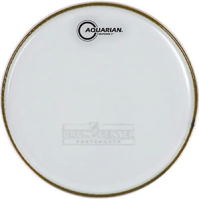 Aquarian Snare/Tom Heads : Response 2 Drumhead 12
