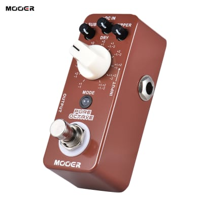 MOOER Moc1 Pure Octave Guitar Effect Pedal for sale