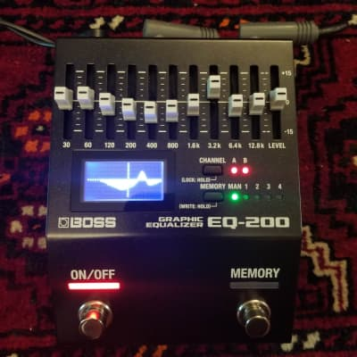 NEW BOSS EQ-200 Graphic Equalizer Pedal
