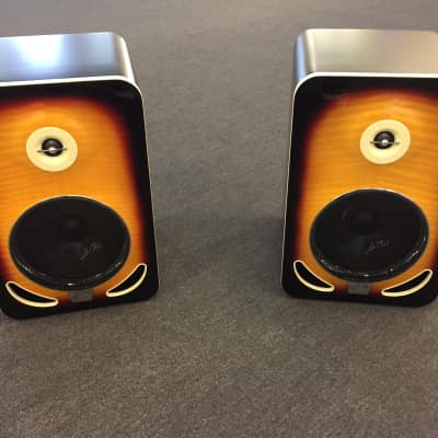 Gibson LP8 Reference Monitor, Pair (2 Pieces), Tobacco Sunburst