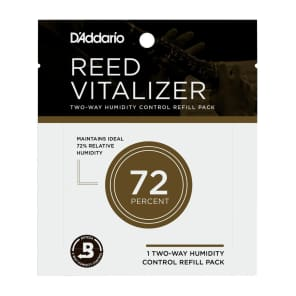 Rico RV0173 Reed Vitalizer Humidity Control - 73% Humidity Single Refill Pack