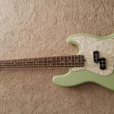Fender Mark Hoppus Signature 2015 Seafoam Green Translucent for sale