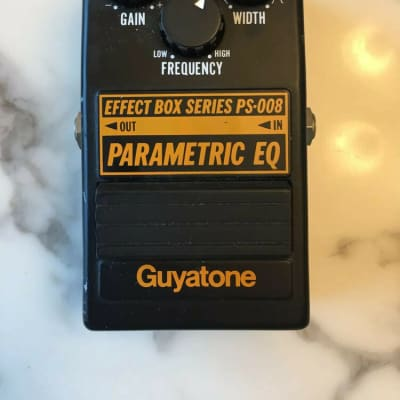 Guyatone PS-008 Parametric Equalizer EQ Rare Vintage Guitar Effect Pedal MIJ Japan for sale