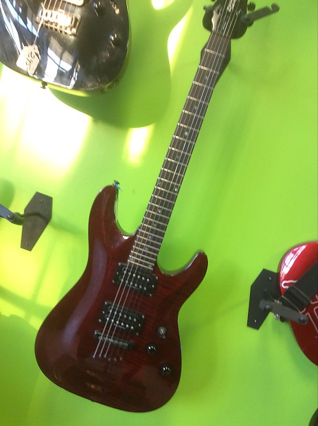 schecter diamond series gryphon red wine transparent gloss reverb. Black Bedroom Furniture Sets. Home Design Ideas