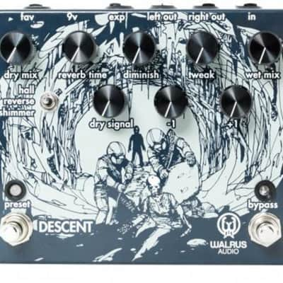 Walrus Audio Descent Reverb Guitar Effects Pedal (Used/Mint)