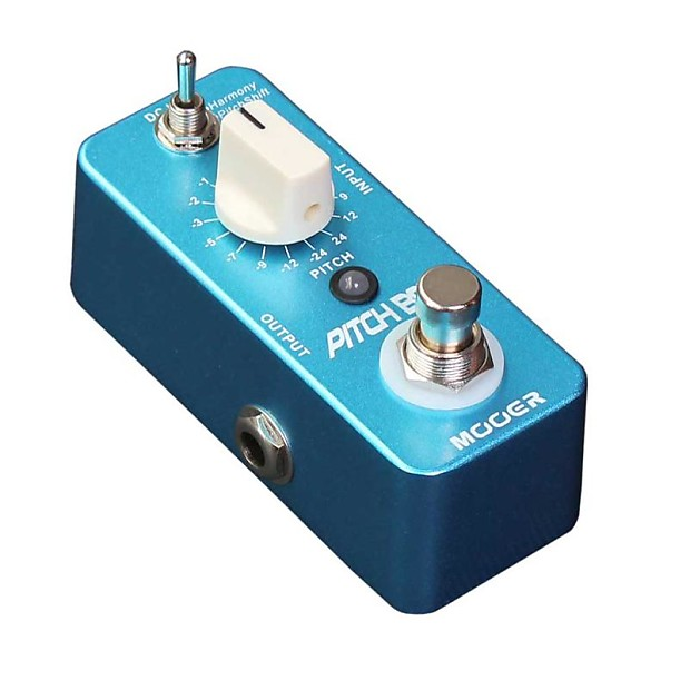 New Mooer Pitch Step Pitch Shifting and Harmony Guitar Effects Pedal!!
