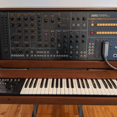 Korg PS-3200 and controller PS-3010 1980 Wood