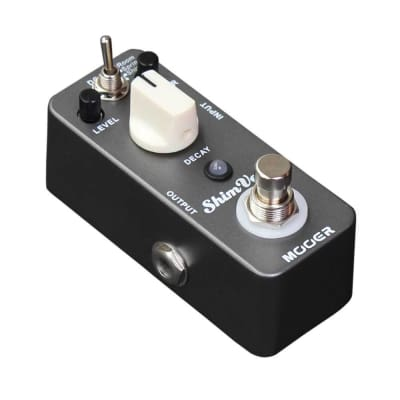 Mooer Shim Verb Reverb Pedal 3 reverb modes/Room/Spring/Shimm True Bypass NEW