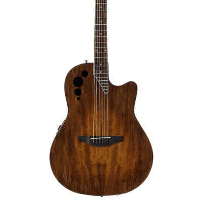 Ovation AE44II-VV Applause Elite Mid-Depth Mahogany Neck 6-String Acoustic-Electric Guitar w/Case for sale