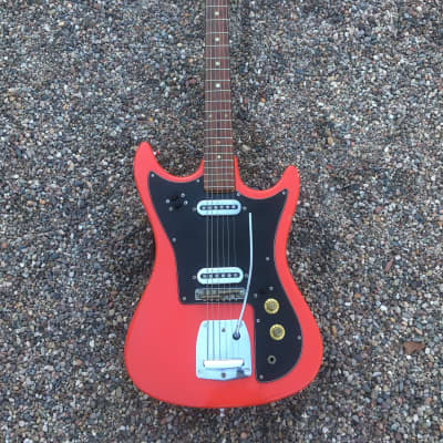 St George 1963-1967 Mustang Style MIJ Guitar- 24 Inch Scale-Teisco-Kawai for sale