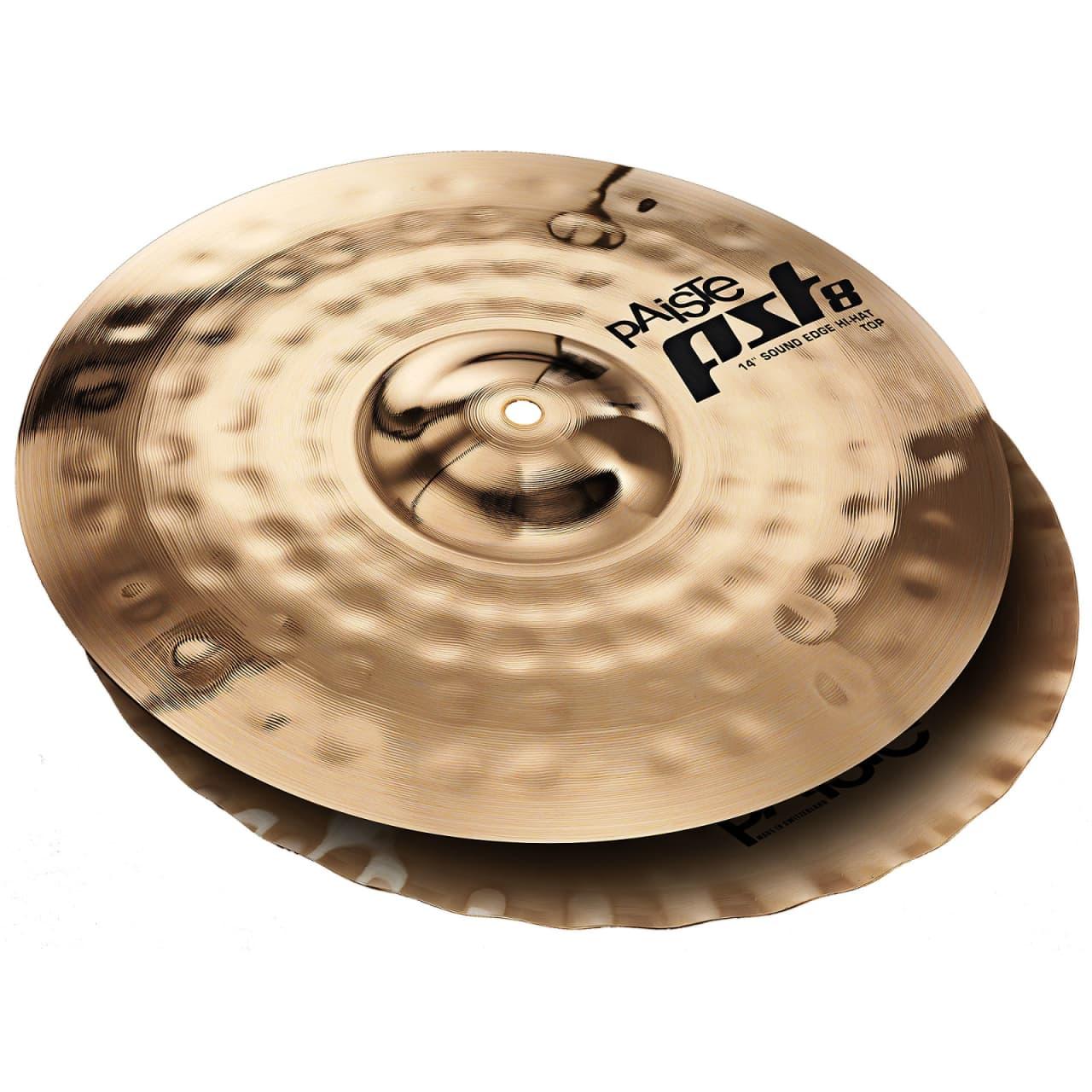 paiste 14 inch pst 8 reflector sound edge hi hat cymbal top reverb. Black Bedroom Furniture Sets. Home Design Ideas