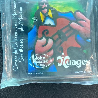 John Pearse Strings Nuages Cordes Guitare Jazz Manouche Set #2810 Light/Medium (Gypsy Jazz)