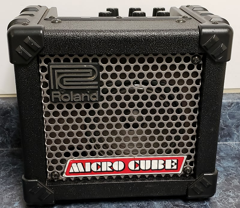 roland micro cube portable guitar amplifier reverb. Black Bedroom Furniture Sets. Home Design Ideas