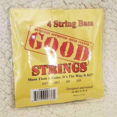 Bass stings 45-105 X 3 sets. Don't miss this.