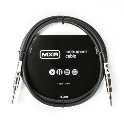 MXR 5FT Standard Instrument Cable Straight