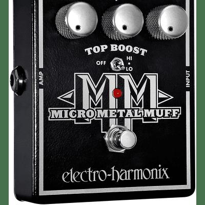 Electro Harmonix XO Micro Metal Muff Mini Distortion Guitar Effects Pedal for sale
