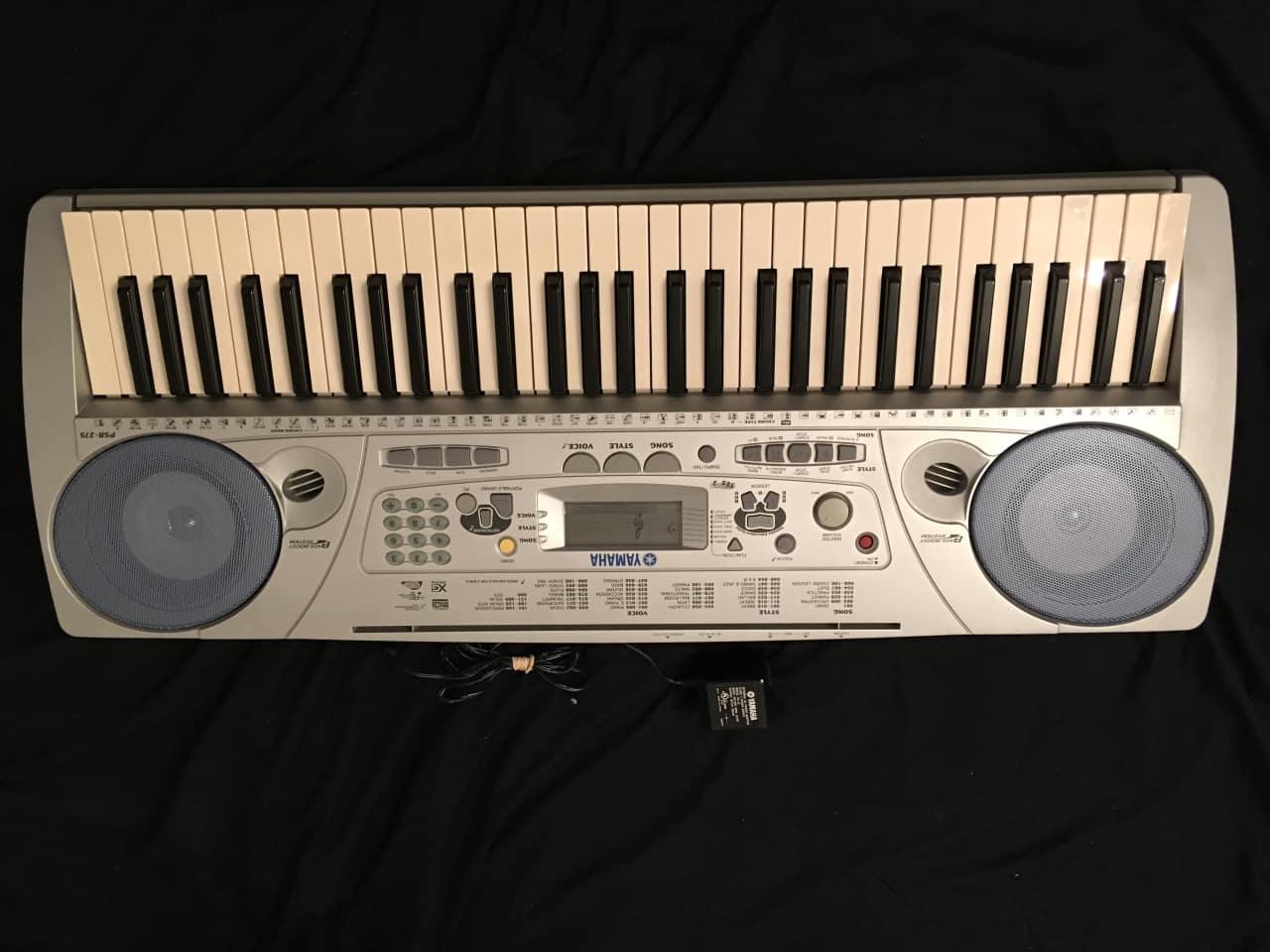 Yamaha portatone electronic keyboard psr 275 midi for Yamaha portatone keyboard