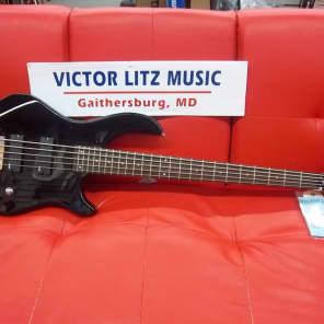 Dean Edge 1 5-String Electric Bass Guitar Classic Black