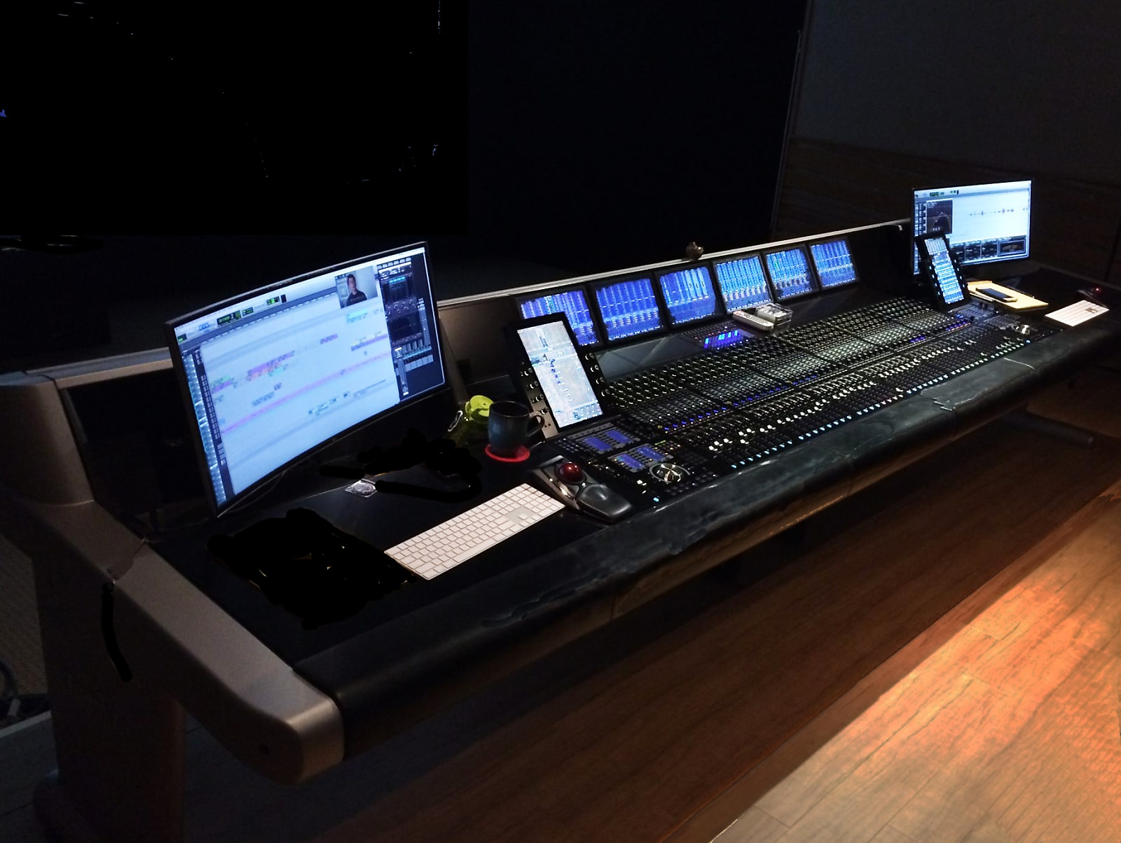 AVID S6 Custom Mixing Console with Frozen Fish Mods • Excellent Condition