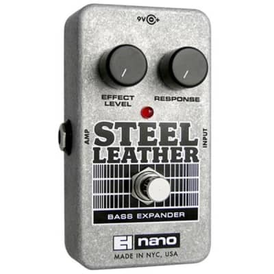 Electro-Harmonix Steel Leather Bass Expander Pedal for sale
