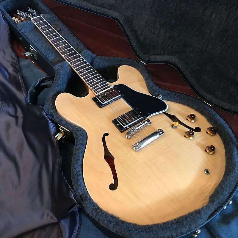 Gibson Custom ES-335 Dot Antique Natural Figured Maple 2008 w/ OHSC