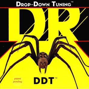 DR DDT5-45 Drop Down Tuning 5-String Bass Strings - Medium (45-125)