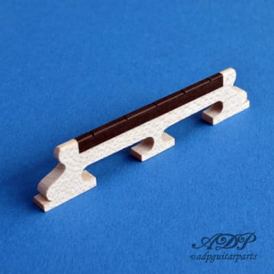 Banjo 5 String Bridge Maple & Ebony for sale
