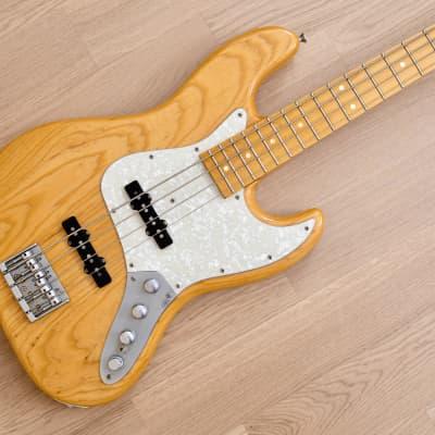 2012 History GH-BJ4A/M Heritage Wood Jazz Bass Natural Ash w/ Aguilar Preamp & Case, Japan Fujigen for sale
