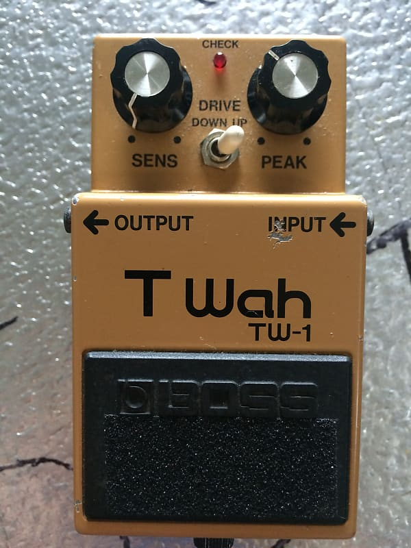 Boss TW-1 Touch Wah Pedal | Scotty's Stash