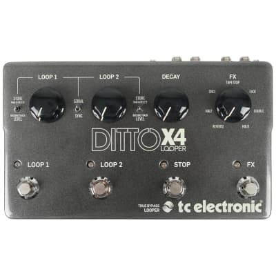 TC Electronic Ditto X4 Looper pedal for sale