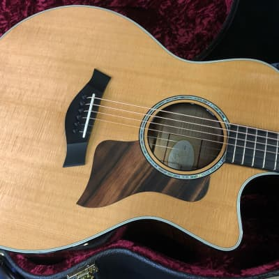 2015 Taylor 616ce Venetian Cutaway - Brown Sugar Stain Massive Curly Flame Maple Authorized Dealer