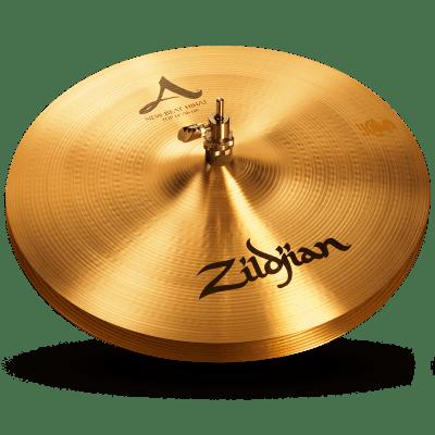 """Zildjian 14"""" A Zildjian New Beat Hi-Hats (Pair)"""