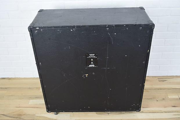 kustom 4x12 pro412a guitar speaker cabinet awesome used cab reverb. Black Bedroom Furniture Sets. Home Design Ideas