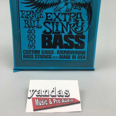Ernie Ball Slinky Series Bass Guitar Strings - Extra Slinky