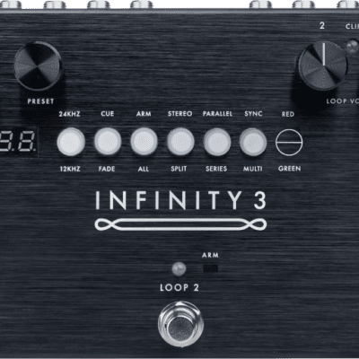 NEW!!!  INFINITY 3 DELUXE STEREO DOUBLE LOOPER