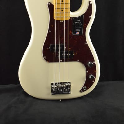Fender American Professional II Precision Bass MN Olympic White