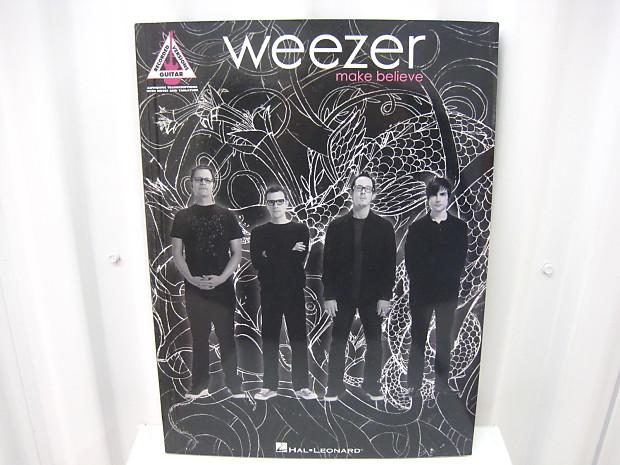 Weezer Make Believe Sheet Music Song Book Songbook Guitar Tab Tablature