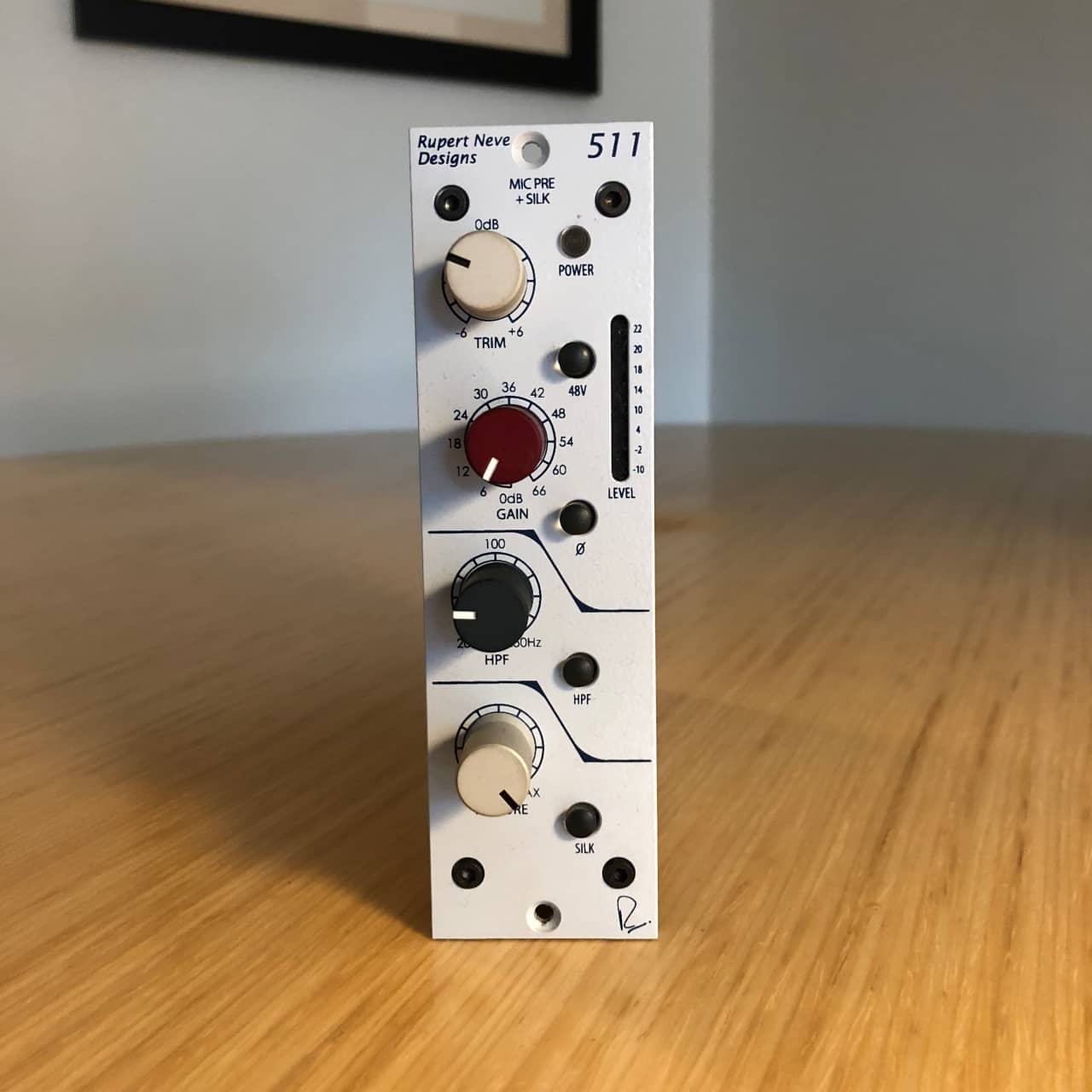 rupert neve designs 511 microphone preamp with silk the lab reverb. Black Bedroom Furniture Sets. Home Design Ideas