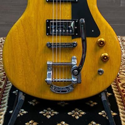 Gadow Custom Special Setneck Electric Guitar Korina Body - Rosewood w/Bigsby for sale