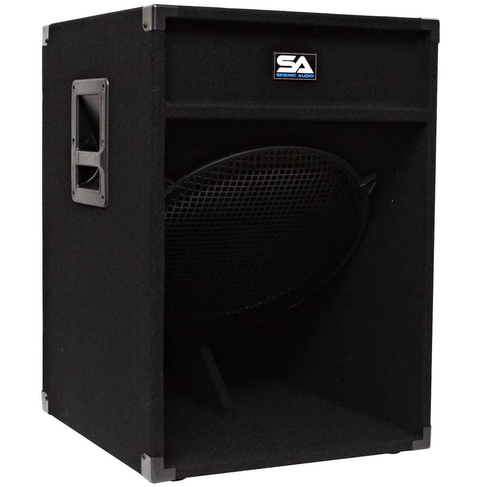 18 subwoofer pa dj pro audio band speaker new sub reverb. Black Bedroom Furniture Sets. Home Design Ideas